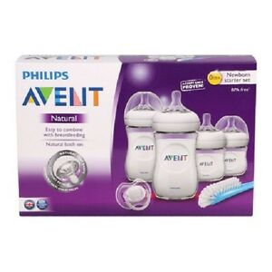 New-Philips-Avent-Natural-Newborn-Starter-Set-BPA-Free