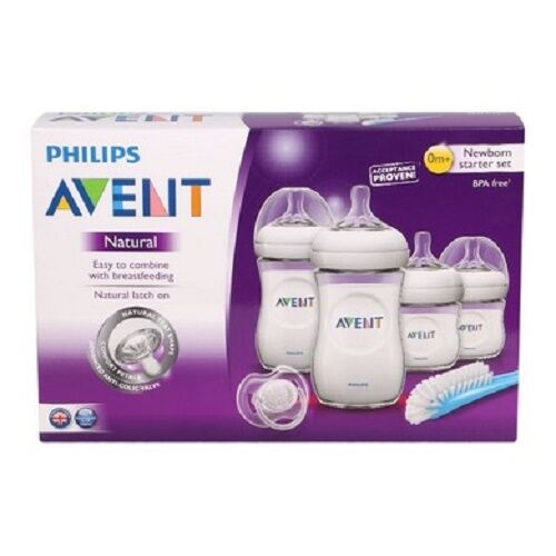 New Philips Avent Natural Newborn Starter Set BPA Free