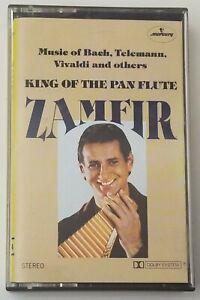 Zamfir Cassette King of the Pan Flute 1980 Mercury Tape