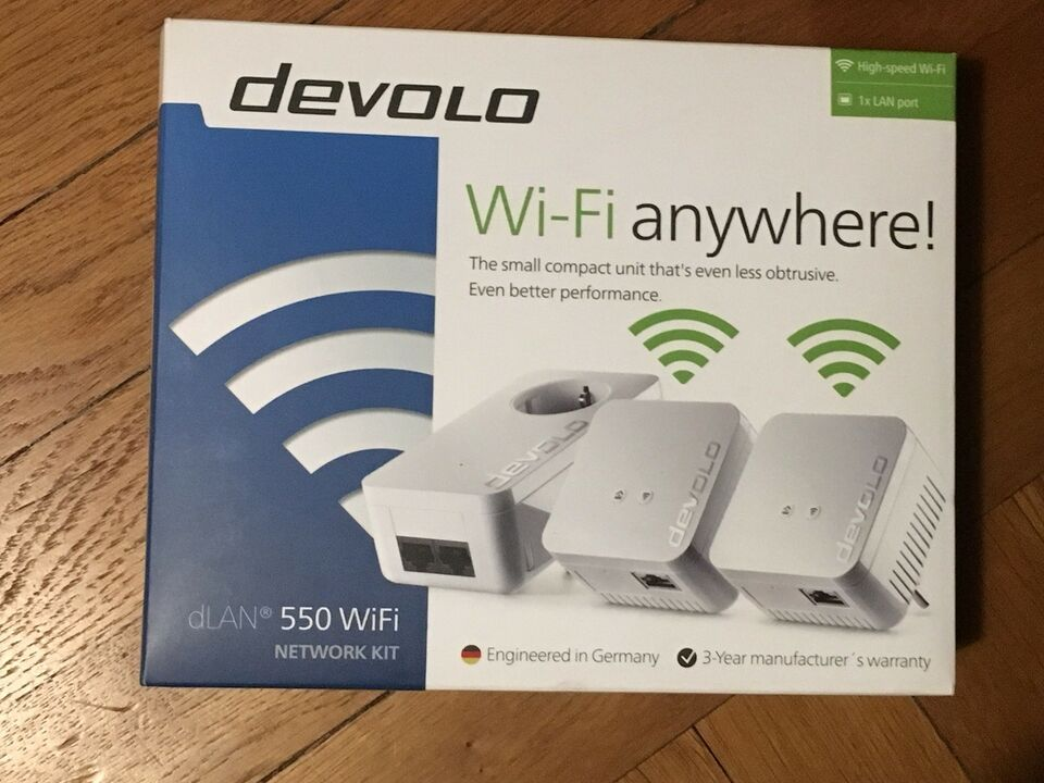 Repeater, wireless, Devolo