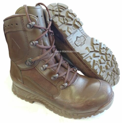 Used British Combat Brown Sizes stivali Army Haix Goretex Various Cadet AArzWUF