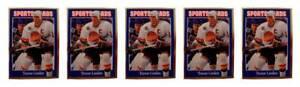 5-1992-Sports-Cards-125-Trevor-Linden-Hockey-Card-Lot-Vancouver-Canucks