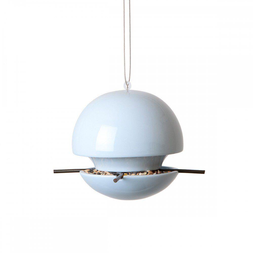 verde y Azul birdball alimentador Semilla-Azul