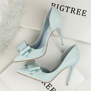 6271063ab0d Image is loading Best-Womens-Ladies-Stilettos-High-Heels-Pointed-Toe-