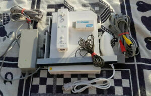 Nintendo-WII-BIANCA-console-di-gioco-PAL-STRUMENTI-versione-Gamecube-adattatore-HDMI
