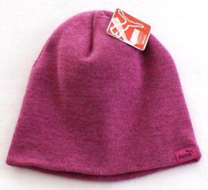 b61fa016dafe4a Puma Evercat Pink Knit Beanie Women's One Size NWT 888394100649 | eBay
