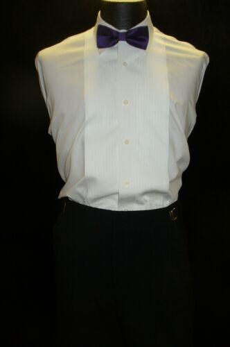 Bow Tie Pretied Grape B822 Poly Satin