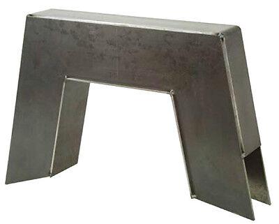 """C10 C Notch Step Notch 1963-1972 10 Inch 8 Piece Frame CNotch Weld In 10/"""" 63-72"""