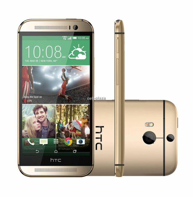 Neuf HTC ONE M8 - 32 Go - Doré (Débloqué d'usine) 3G 4G LTE Téléphone Mobile