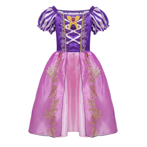 Girls Kids Dress Costume Princess Halloween Christmas Cosplay Party Outfits