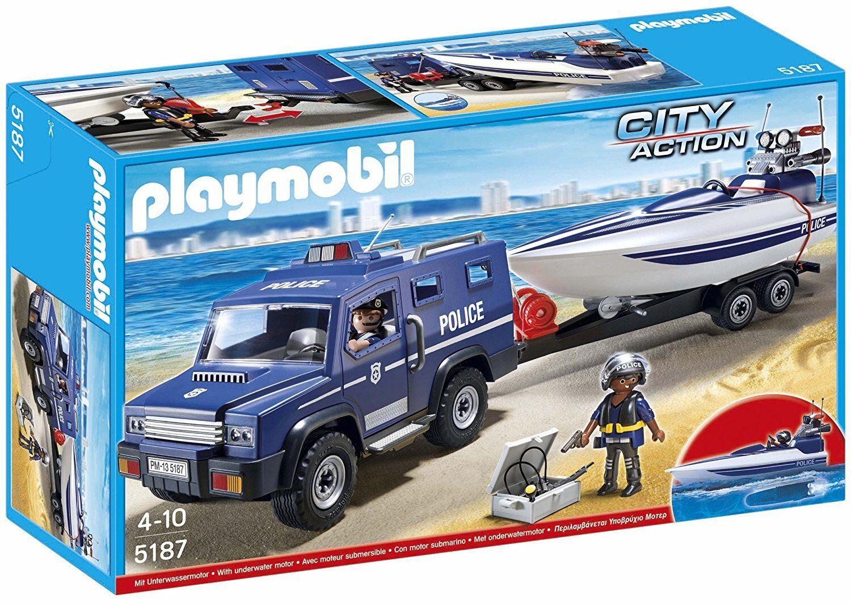 Playmobil City City City action 5187- Mannschaft de 3 bomberos. De 5 a 10 años 8e9d11
