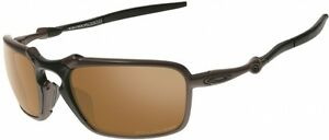 11922a9c0 Image is loading RARE-NEW-Collector-OAKLEY-BADMAN-Polarized-Pewter-Tungsten-