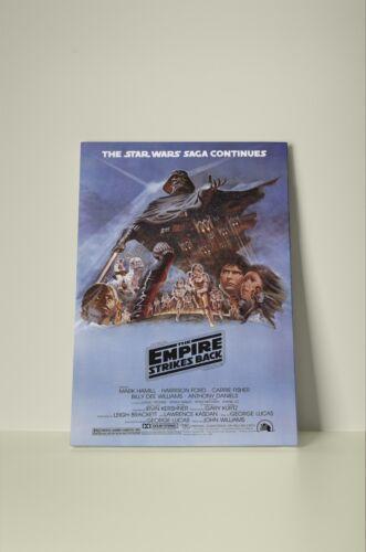 Star Wars The Empire Strikes Back 002 Framed Canvas Print