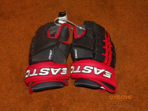 "Easton Pro 12/"" junior hockey gloves"