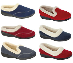 New-Ladies-out-Door-Bed-Boots-Mules-Pumps-Women-Slip-on-Shoes-Winter-Slippers
