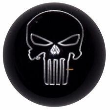 Black Punisher Skull Shift Knob for Corvette C4 C5 manual 9/16-18 threads