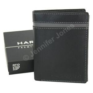 653a7d5900ef6 Das Bild wird geladen HAROLDS-RFID-Luxus-Herren-Leder-Geldboerse-Echtleder -Portemonnaie-