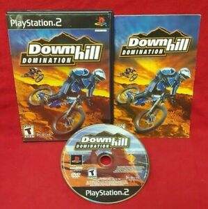 Downhill-Domination-Playstation-2-PS2-Game-Complete-Tested-Working