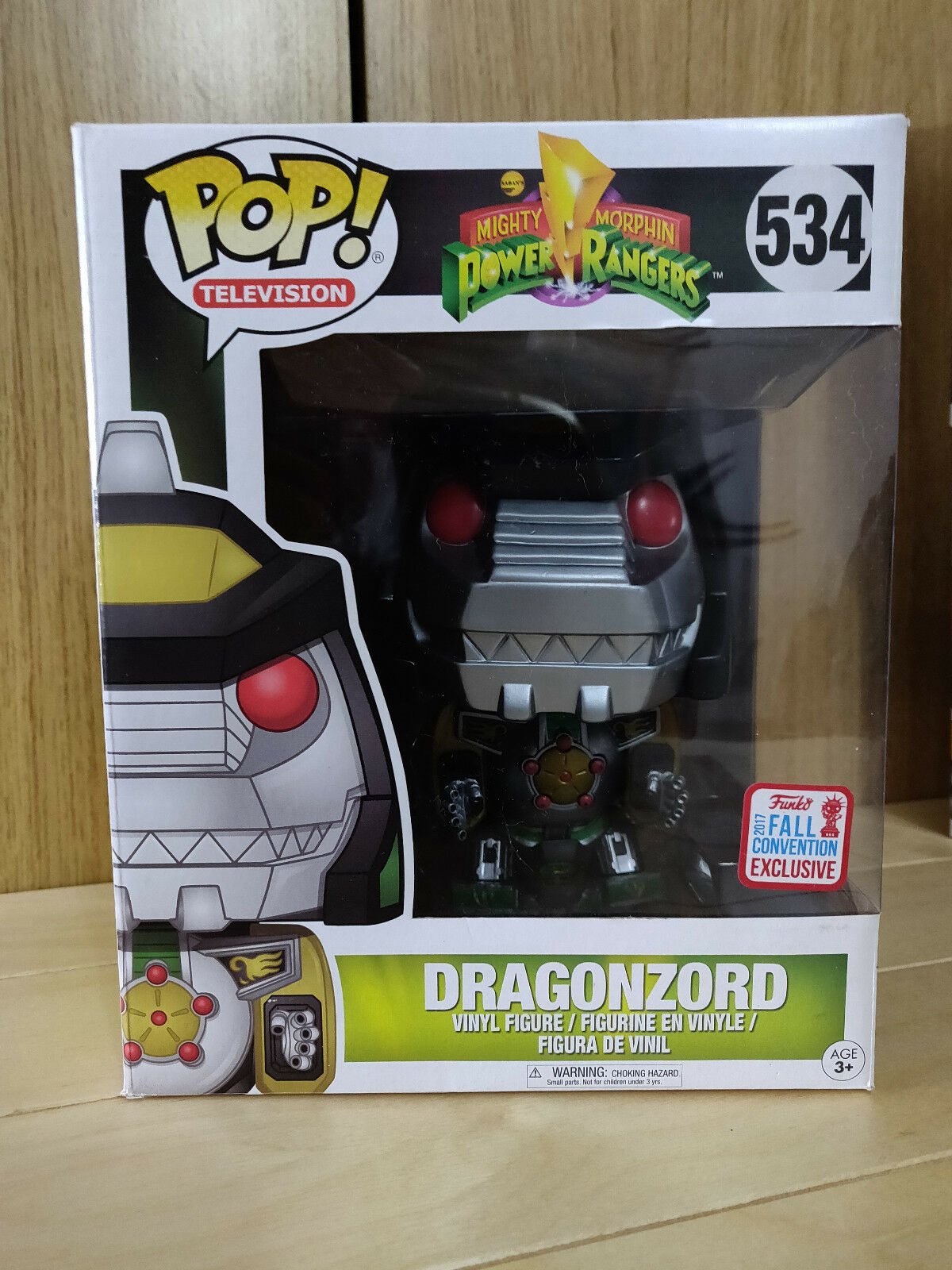 FUNKO POP DRAGONZORD FALL CONVENTION 2017 EXCLUSIVE