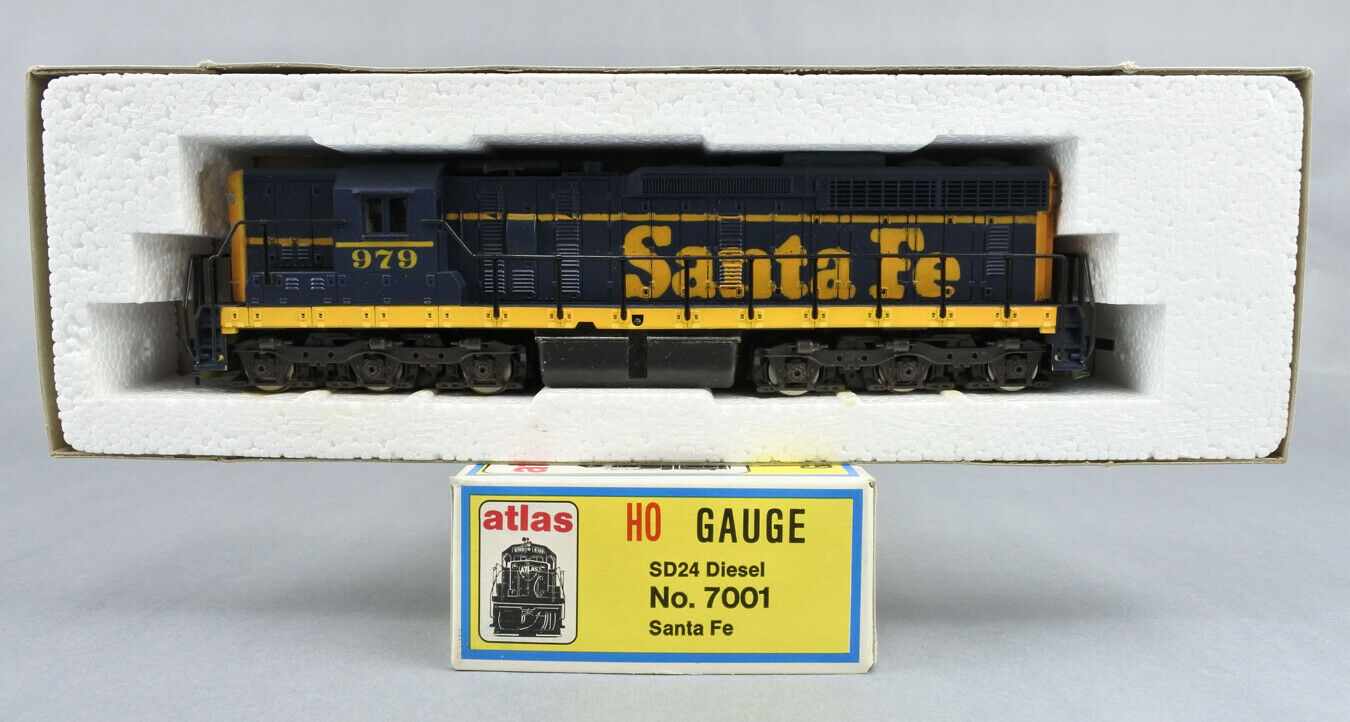 ATLAS HO SCALE 7001 SANTA FE SD24 DIESEL ENGINE