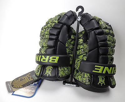 """Brine Deft Limited Lacrosse LAX Glove 13"""" Glow in Dark (NEW) Retails $129.99"""
