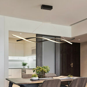 Details About Modern Led Chandelier Dining Room Ceiling Light Acrylic Pendant Lamp Fixtures