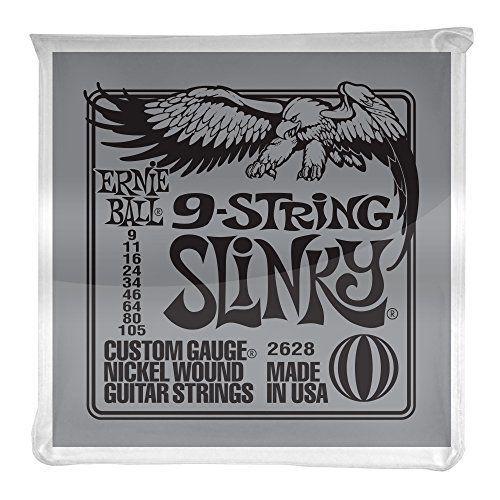 .009 Ernie Ball P02628 9-String Slinky Nickel Wound Set