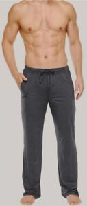 Schiesser-Men-039-s-Mix-amp-Relax-Long-Lounge-Pajama-Trousers-Medium-Anthracite