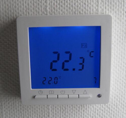 REGOLATORE di temperatura per Fussbodenheizung MAX 16a settimane programma #894