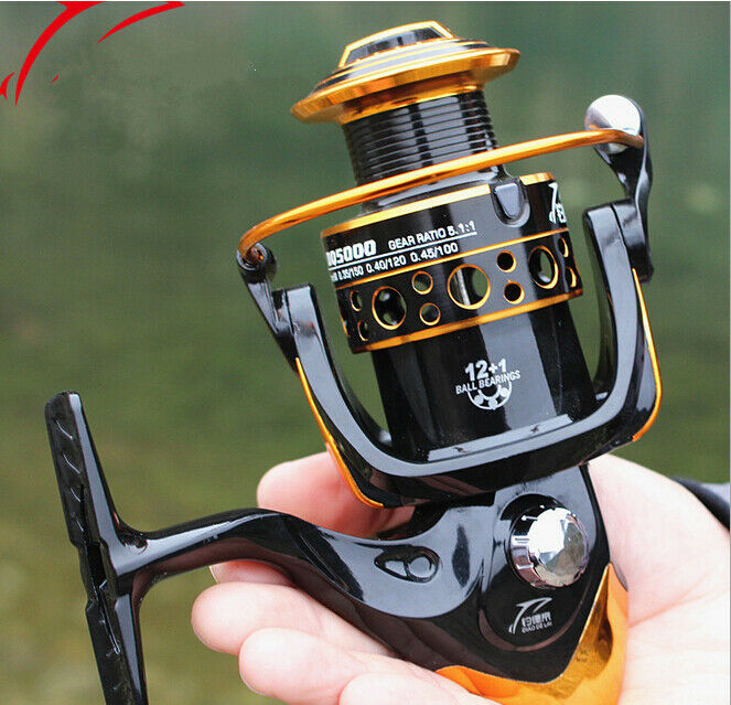 13BB Ball Bearing LeftRight Handed Saltwater Freshwater Fishing Spinning Reel  DQ  buy 100% authentic quality