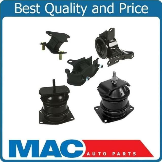 5 Piece Motor Mount Kit For 2000-2003 Acura TL 3.2L 2001