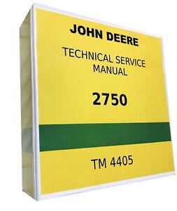 Details about 2750 John Deere Technical Service Shop Repair Manual on john deere g wiring diagram, john deere 4230 wiring diagram, john deere 2755 wiring diagram, john deere 70 wiring diagram, john deere 60 wiring diagram, john deere 4010 wiring diagram, john deere 850 wiring diagram, john deere 2940 wiring diagram, john deere 2150 wiring diagram, john deere 2550 wiring diagram, john deere 3020 wiring diagram, john deere a wiring diagram, john deere 2305 wiring diagram,