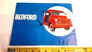 1961-BEDFORD-Van-Original-Sales-Brochure-Good-Condition-CDN