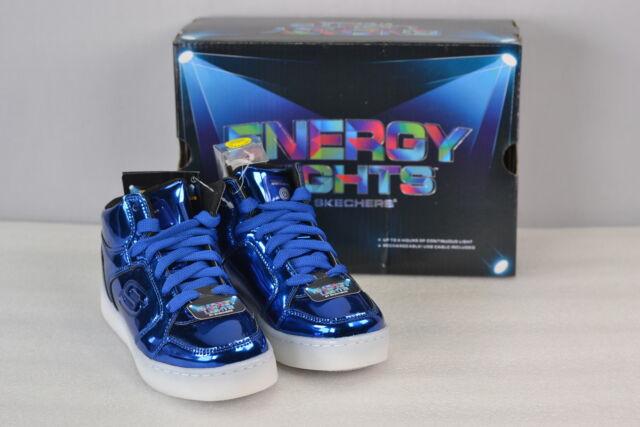 Youth Boy's Skechers S Lights Energy Lights Eliptic Sneakers Royal