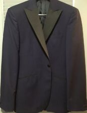 NWT Hardy Amies Men's Grosgrain Peak Lapel Tuxedo Suit/ Dinner Suit Size 40R