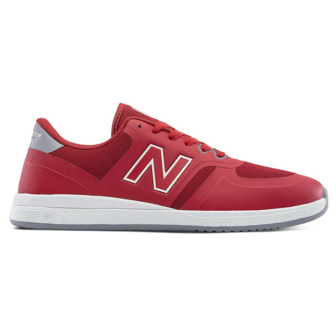 New Balance    numérico tenis (Rojo blancooo) Para Hombre De Zapatos Patinaje Clásico