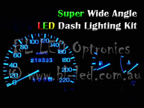 Blue LED Dash Light Kit suits compatible with Nissan Silvia 180SX S13 S14
