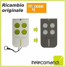 TELECOMANDO APRICANCELLO MOOVO MT4 4 CANALI 433MHZ RADIOCOMANDO