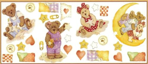 BOYDS BEARS /& FRIENDS STICKERS NURSERY BABY ROOM WALL DECAL DECOR Made in USA