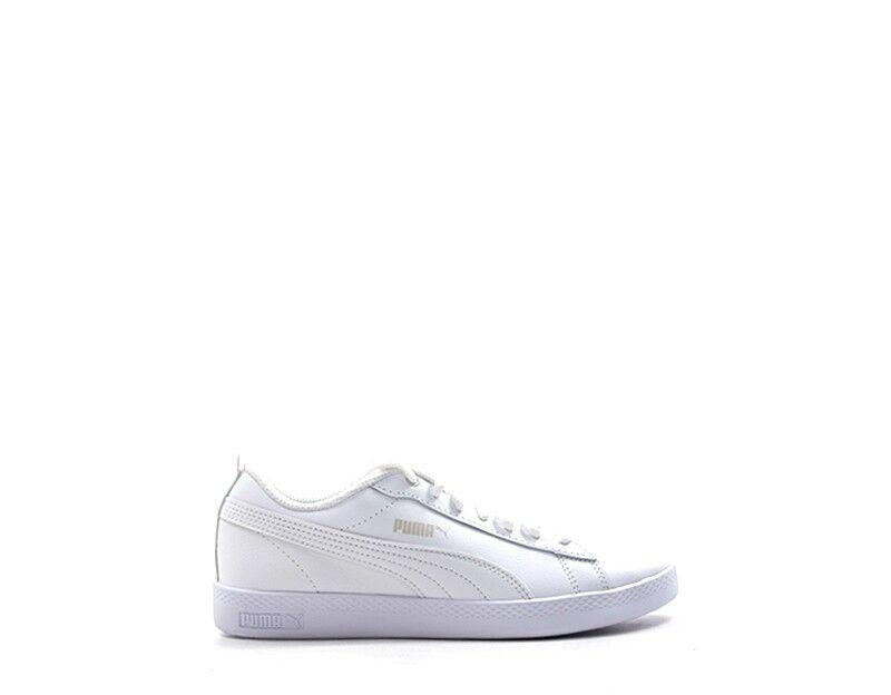 shoes shoes shoes PUMA Femme BIANCO Cuir naturel,PU 365208-004 68fc88