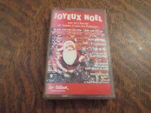 Joyeux Noel Audio.Details Sur Cassette Audio La Chorale De Sainte Croix Les Pelletiers Joyeux Noel