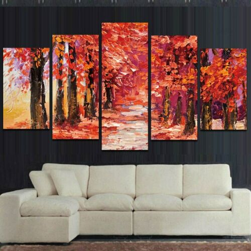 Colorful Modern Sunflowers Art Canvas Oil Painting Wall Picture Painting Print