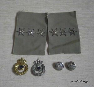 GREEK-ARMY-METAL-HAT-BADGES-EPAULETTES-BUTTONS-NEW-MILITARY-GREECE
