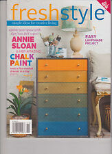 FRESHSTYLE MAGAZINE VOL.2 #3 MAY/JUNE 2014, SIMPLE IDEAS FOR CREATIVE LIVING.
