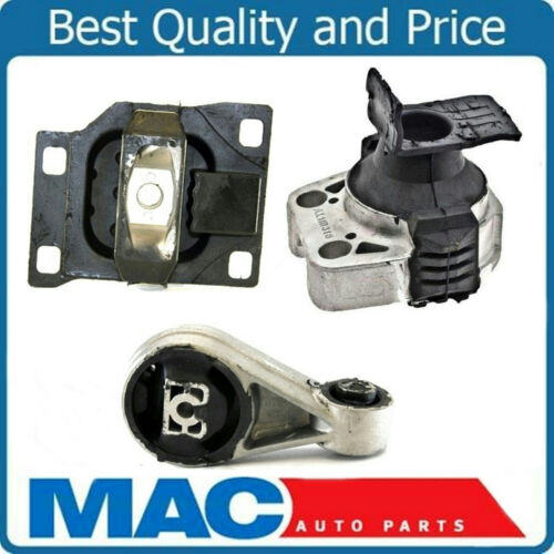 Engine Motor and Transmission Mount Kit 3pc Set for 05-07 Ford Focus 2.0L A//T
