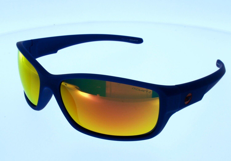Sonnenbrille DEMETZ SLIDE Marineblau   Glas Spiegel rot polarizadas Herren | Online Shop Europe