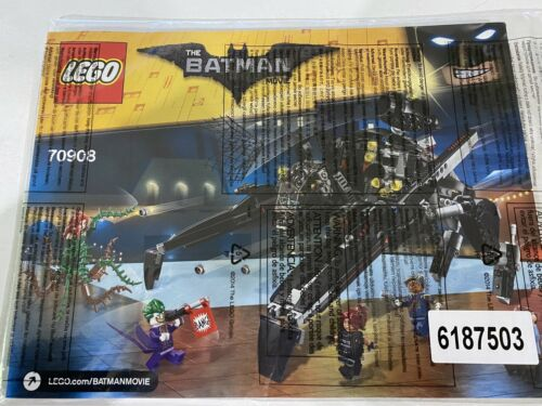 Instruction Manual ONLY 70908 LEGO Batman Movie The Scuttler SEALED!