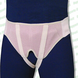 Breathable-Hernia-Support-Belt-Truss-Girdle-Brace-Inguinal-Groin-Pain-Men-Women