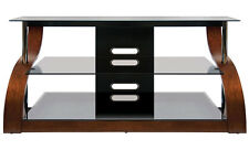 """Bell'o CW-343 Curved Wood Audio Video Table for up to 55"""" panel {NEW} Bello"""