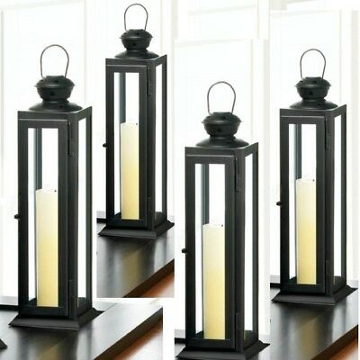 Lot Of 10 Tower Lantern Candle Holder